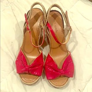 Kate Spade Wedges Size 8
